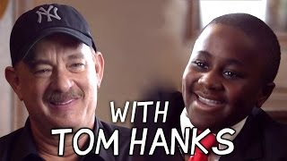 Kid President Talks to Tom Hanks about Heroes!