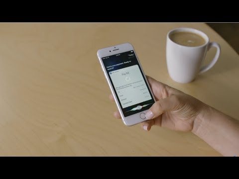 Video: Video demonstration of an RBC client paying a bill using Siri on iPhone.