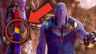 Avengers Infinity War CAPTAIN MARVEL EASTER EGG? (Black Order Theory)