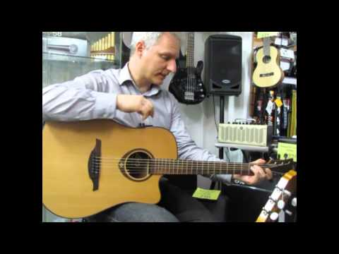 Guitar Review : Lag Tramontane T200DCE