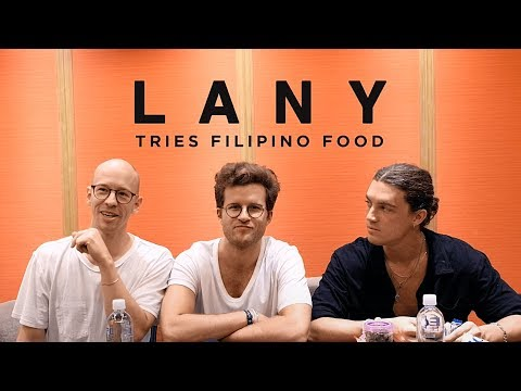 LANY Tries Filipino Food
