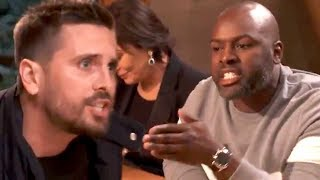 Watch Scott Disick SCREAM at Corey Gamble Over Controversial Parenting Advice