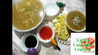 How to Make Street Style Chicken Corn Soup|Karachi Street Food series:Part 1