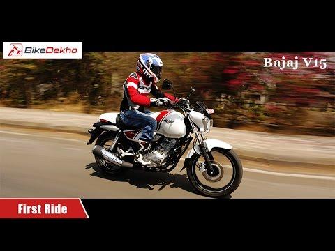 Bajaj V15 | First Ride Review | BikeDekho.com