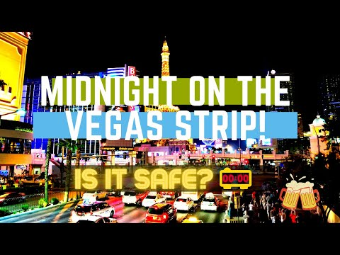 Vegas October 2020: Las Vegas Strip at Midnight Walking Tour - Is It Safe on the Strip?