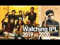 Watching IPL 2019 vs 2020   Tribute to MS Dhoni   ft.@Krazy Khanna     Chai Bisket