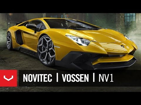 Vossen NV1 exclusively for Lamborghini Aventador