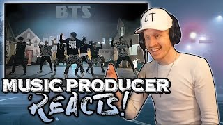 Music Producer Reacts to BTS - No More Dream!!!