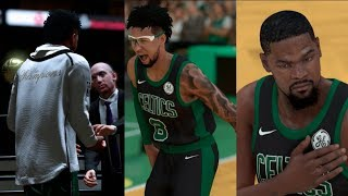 CHAMPIONSHIP RING CEREMONY! MY 1ST HALL OF FAME GAME! NBA 2K19 MyCareer