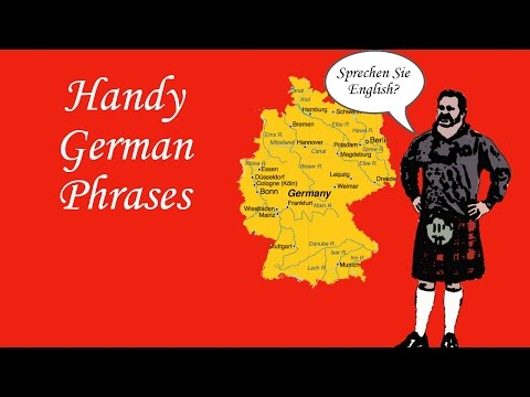 Handy German Phrases