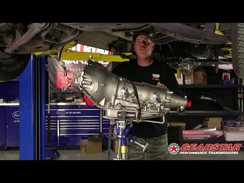 Atomic Van Modified at Hot Rod Garage with Gearstar 4L80E Transmission