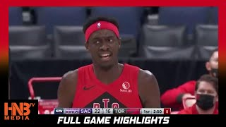 Sacramento Kings vs Toronto Raptors 1.29.21 | Full Highlights