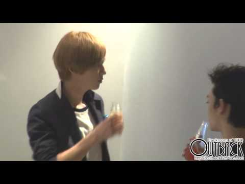 120810 SM ART EXHIBITION 음료수 마시는 EXO 모아모아♥ (찬열 위주) 1080p