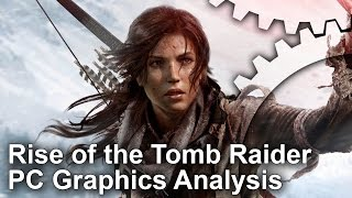 Rise of the Tomb Raider - PC/Xbox One Grafikai Összehasonlítás