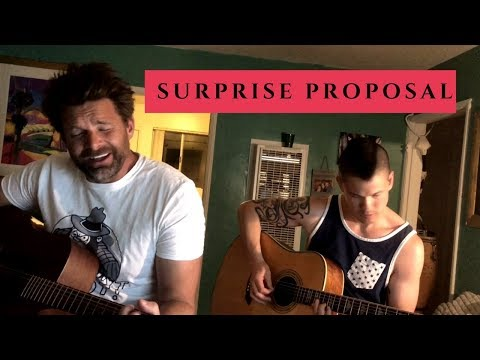Surprise Proposal ?? Musician Improvs LOVE SONG Asks For Marriage ??