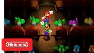 Mario & Luigi Superstar Saga + Bowser's Minions - Game Reveal - Nintendo E3 2017