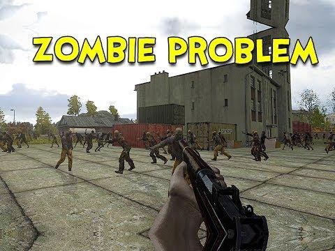 ZOMBIE PROBLEM! - Arma 3 DayZ