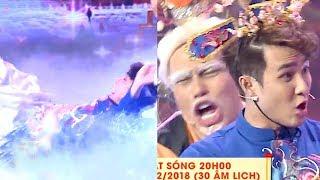 'Cười xỉu' khi Huỳnh Lập trổ tài 'Ăn Vạ' trên sân khấu Táo Quân 2018