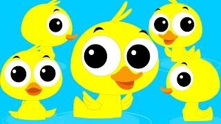 Duck Song   Original Song   Nursery Rhymes   Children's Rhymes   Kids Videos by Kids Tv