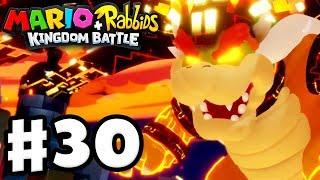 Mario + Rabbids Kingdom Battle - Gameplay Walkthrough Part 30 - Perfect Megadragon Bowser Boss Fight