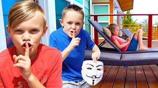 Kids Fun TV Jokes Compilation Video: Jokes on Dad, Funny Jokes