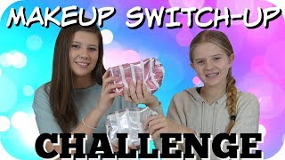 MAKEUP SWITCH UP CHALLENGE || COVER GIRL, MAYBELLINE, L'OREAL ||   Taylor and Vanessa