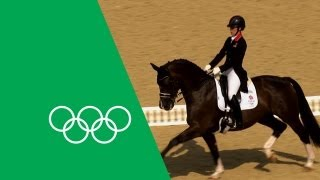 Charlotte Dujardin's Emotional Olympic Gold | Olympic Rewind