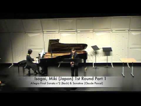 Isogai, Miki Japon 1st Round Part 1