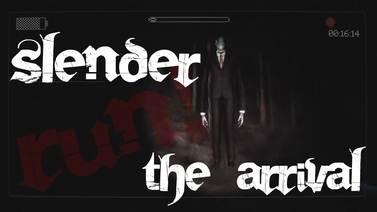 HOME ALONE WITH SLENDER - Slender The Arrival - YouTube