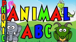 Animal ABC Song: Learn Letters, Phonics and Animals
