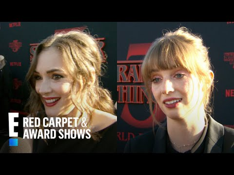 Winona Ryder Gushes Over Ethan Hawke's Daughter | E! Red Carpet & Award Shows
