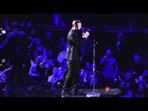 Not A Bad Thing and What Goes Around Comes Around - Justin Timberlake at Madison Square Garden 2014