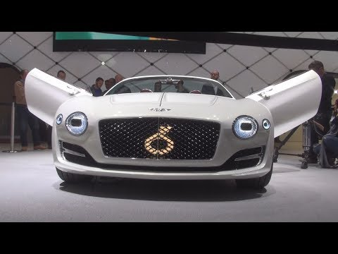 @BentleyMotors #EXP12 Speed 6e Concept (2017) Exterior and Interior in 3D