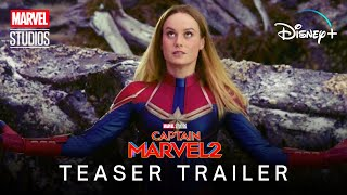 Marvel Studios' CAPTAIN MARVEL 2 (2022) | Teaser Trailer | Disney+