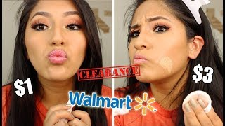 Walmart MAKEUP CLEARANCE $$ (Haul & First Impressions!!)