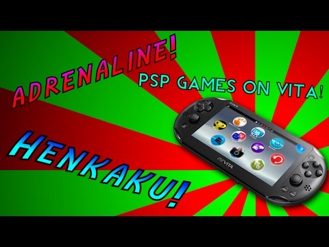 how to play psp games on vita
