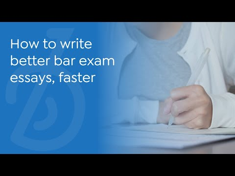 Write passing bar exam essays, faster. BARBRI Essay Architect.