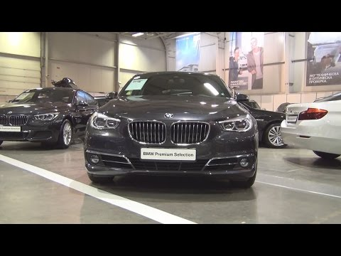 BMW 530d xDrive Gran Turismo Sophisto Grey (2016) Exterior and Interior in 3D