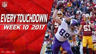 Every Touchdown from Week 10   2017 NFL Highlights