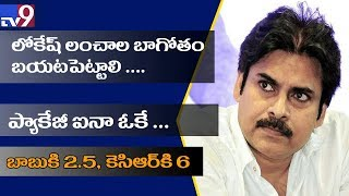 Pawan Kalyan demands probe into Nara Lokesh's corruption..