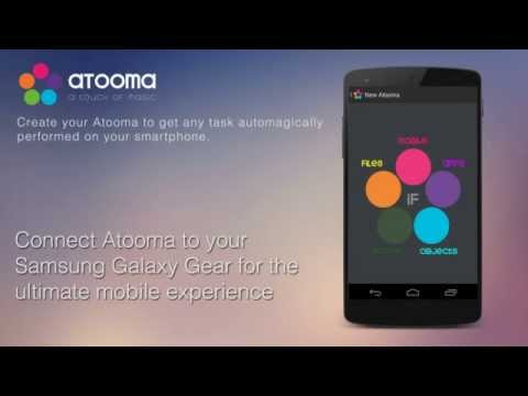 Atooma for Gear: Smart Notification