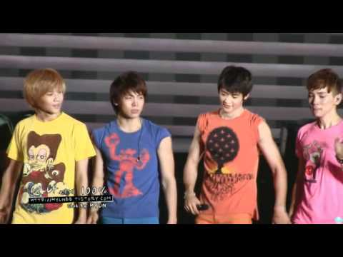 {Must Watch} 101226 SHINee crying and thanking the fans ending fancam @ SHINeeWorld, The 1st Concert