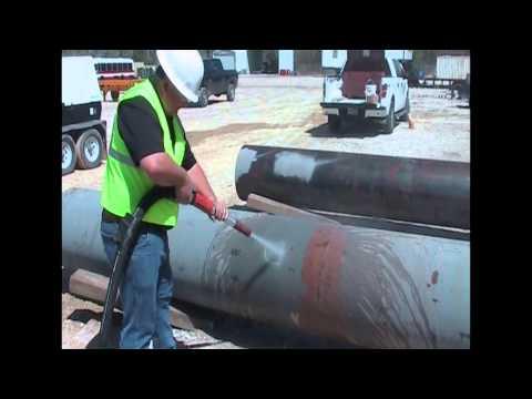 EQ400 Epoxy Removal Pipe Video