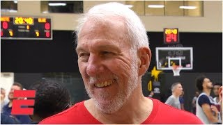 'I got screwed,' Gregg Popovich jokes about not making 1972 USA Olympic team | FIBA World Cup