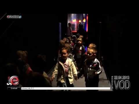 Przedszkolaki zwiedziły najtajniejsze zakamarki Kina