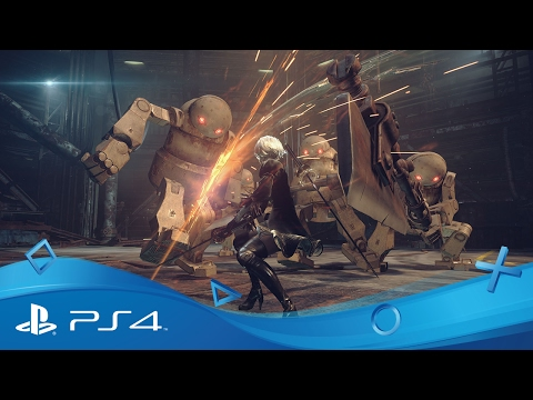 NieR: Automata | Launch Trailer | PS4