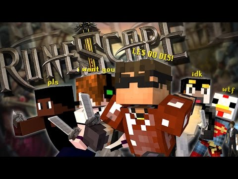 Minecraft Modded Mini-Game : COPS N ROBBERS! RUNESCAPE!