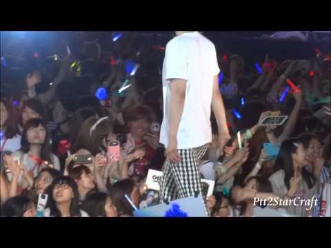 140815 SMtown Ending - Kyuhyun Focus + SJ