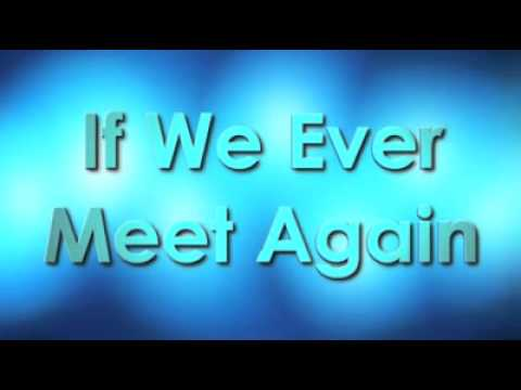 If We Ever Meet Again - Timbaland, Katy Perry (ACappellaPsych)