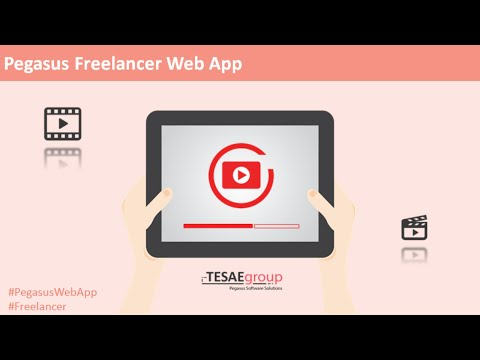 Pegasus Freelancer Web App - Όλες οι Λειτουργίες